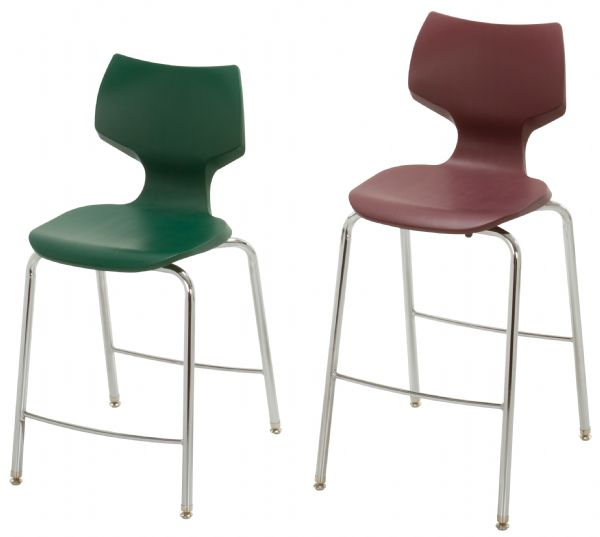 "Smith System™ Flavors™ 24"" Fixed Height Stool"