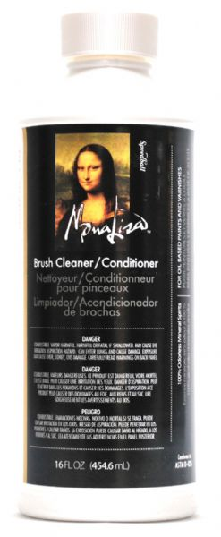 Mona Lisa 16 Oz. Brush Cleaner
