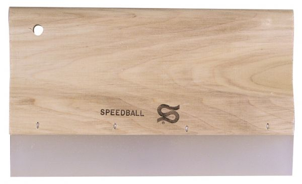 "Speedball 10"" Graphic Squeegee Urethane Blade"