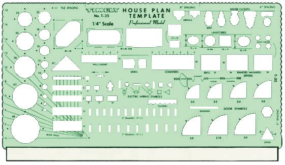 Timely Professional House Plan Templates
