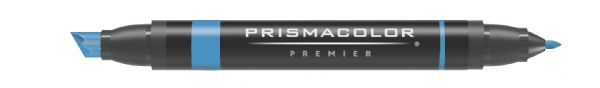 Prismacolor® Premier Art Marker Periwinkle: Blue, Double-Ended, Alcohol-Based, Dye-Based, Extra Broad Nib, Fine Nib