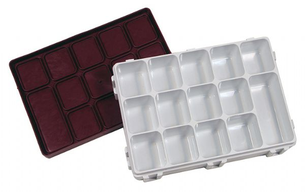 Heritage Arts 14-Well Covered Palette/Storage Tray