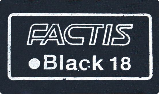 Magic Black™ Soft Erasers 18/Box