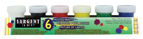 Sargent Art Primary Poster Paint Set