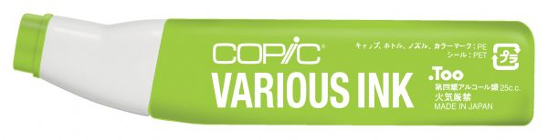 Copic® Various Fluorescent Yellow Green Ink: Yellow, Alcohol-Based, Refill