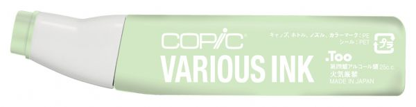 Copic® Various Sea Green Ink: Green, Alcohol-Based, Refill