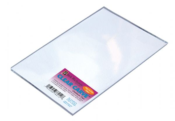 "Richeson Clear Carve™ Clear Carve™ Linoleum 4"" X 6"""