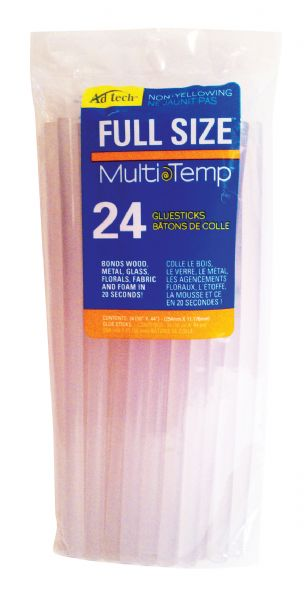 "Ad Tech MultiTemp 10"" Full Size Glue Sticks"