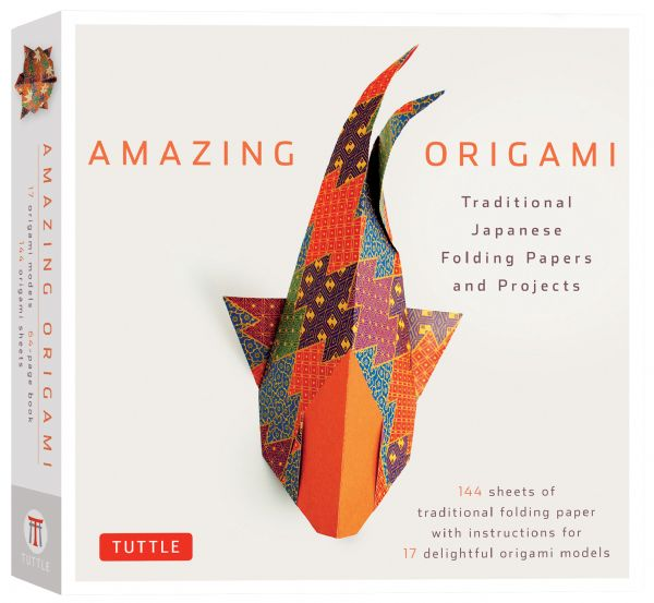 Tuttle Amazing Origami Kit