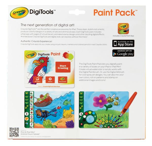 Crayola DigiTools™ Paint Pack For Tablets