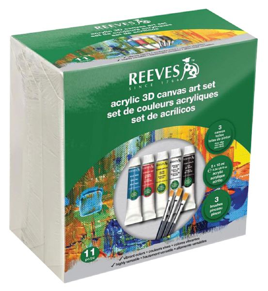 Acrylic 3D Canvas Art Set