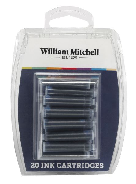 William Mitchell Universal Assorted Color Calligraphy Ink Cartridges