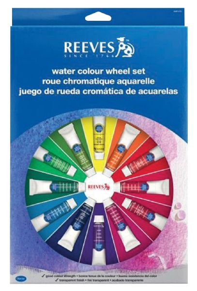 Reeves Reeves™ Watercolor Color Wheel Set: Watercolor, (model 8491470), price per set