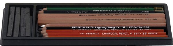 General's® Basic Drawing Pencil Kit