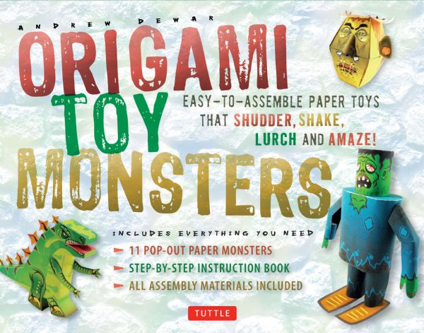 Tuttle Origami Toy Monsters