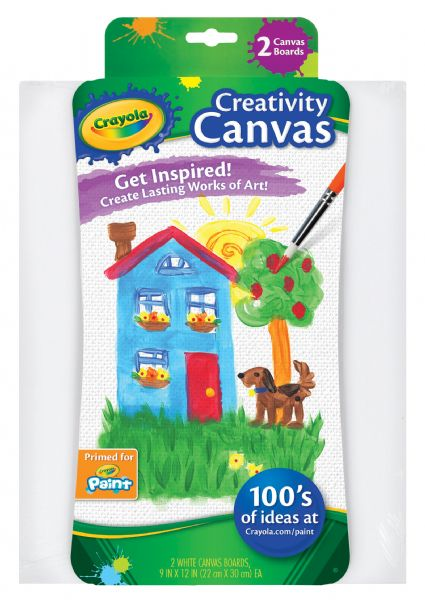 Crayola White Creativity Canvas Boards