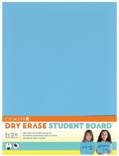 Crescent® Light Blue Dry Erase Board