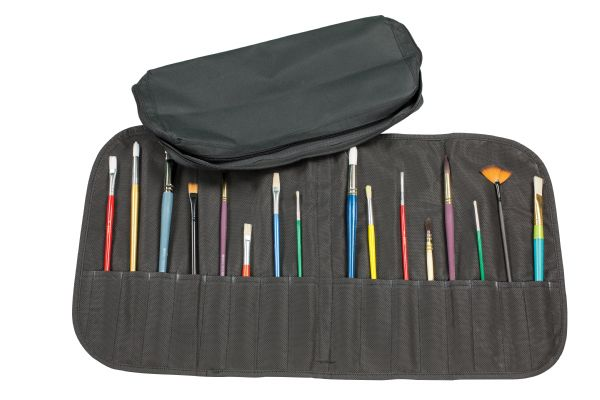 Heritage Arts Deluxe Brush Case