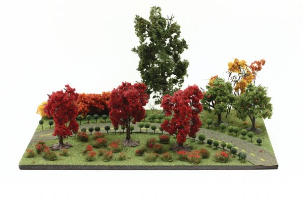 Wee Scapes Architectural Model Foliage Tree, Fall Mix 24-pack
