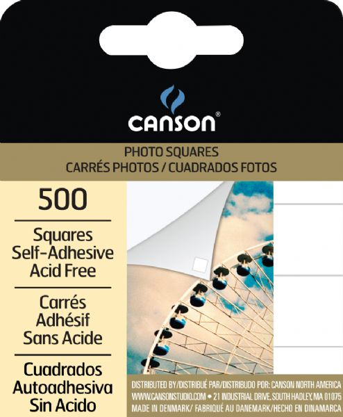 Canson Archival Self-Adhesive Photo Corners & Squares