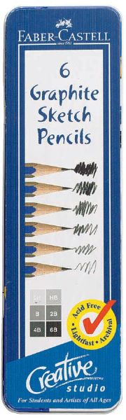 Faber-Castell Creative Studio Graphite Sketch Pencil Set