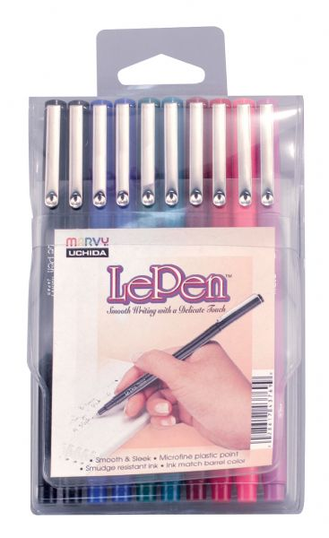 Marvy LePen® 10-Piece Fineline Marker Set