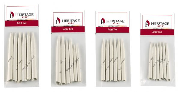 "Heritage Arts™ Tortillions Small 6-Pack: 1/4"" x 2 3/4"", Tortillion"