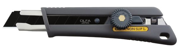 Olfa Rubber Grip Ratchet-Lock Utility Knife 18mm