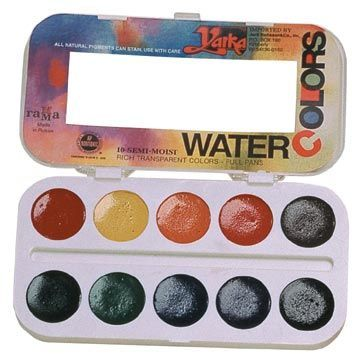 Yarka® 10-Color Watercolor Paint Set