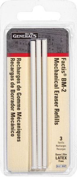 General's® Factis® Mechanical Eraser Refills