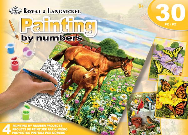 Royal & Langnickel Painting By Numbers™ Art Adv Paint By Number - Fields Box Set