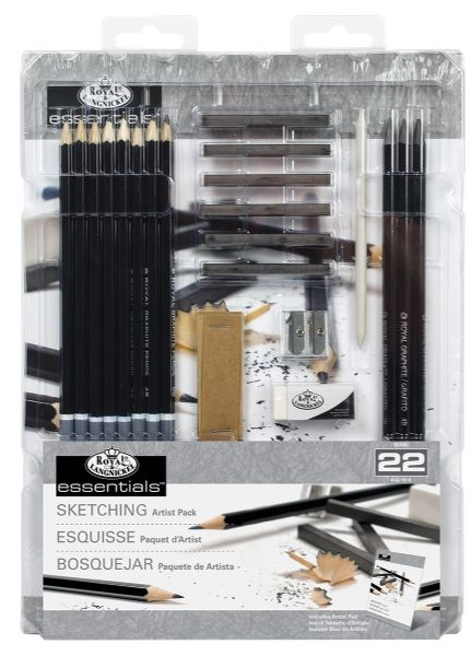 Royal & Langnickel Essentials™ Essentials 22pc Sketching Set