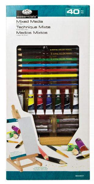Royal & Langnickel Essentials™ Small H Easel Mixed Media Set