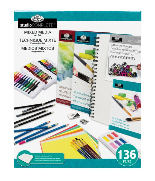 Royal & Langnickel Studio Complete™ Studio Complete Mixed Media Art Set