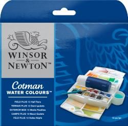 Winsor & Newton Cotman™ Watercolor Field Plus Set