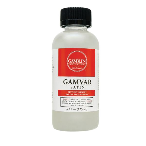 Gamblin Gamblin Gamvar Satin 4.2 Fl Oz