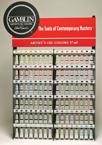 Gamblin Artists' Grade Add-On Oil Color Display 37ml