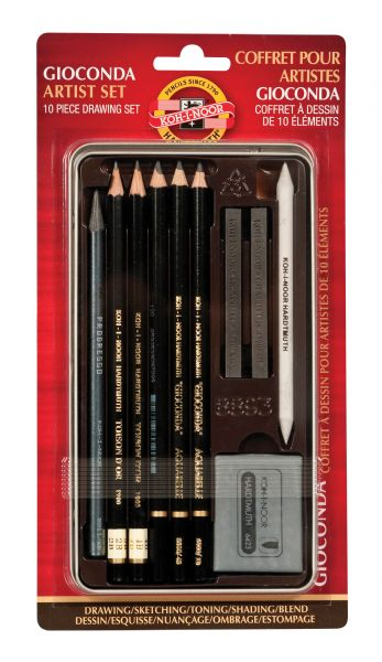Koh-I-Noor Giocoda Art Set Tin 10pc