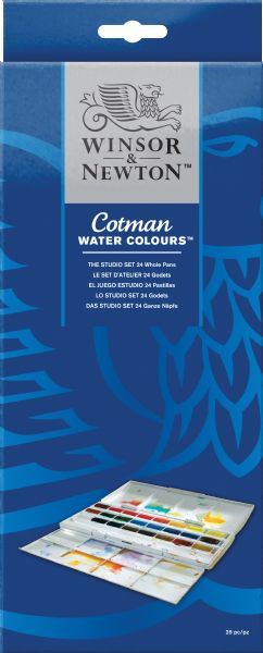 Winsor & Newton Cotman™ Watercolor Studio Set