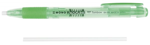 Tombow MONO Knock Eraser, Green