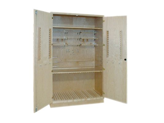 "Hann 60"" 36-Student Drafting Supply Cabinet"