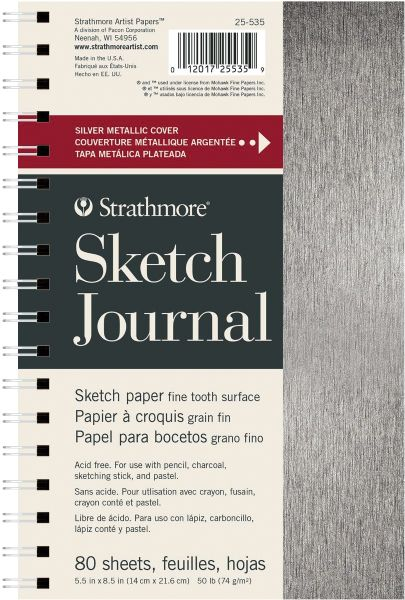 "Strathmore Metallic Sketch Journal 5.5"" X 8.5"""