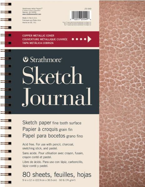 "Strathmore Metallic Sketch Journal 9"" X 12"""