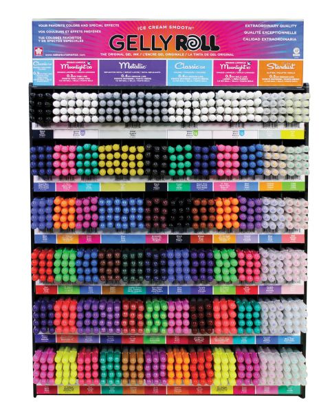 Gelly Roll Mega Display 864pc