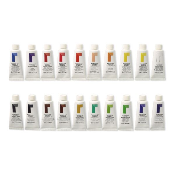Reeves 22ml Watercolor 20-Color Set
