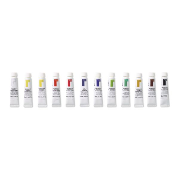 Reeves 10ml Watercolor Paint 12-Color Set