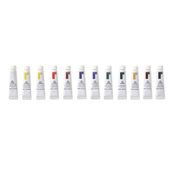 Reeves 10ml Oil Color Paint 12-Color Set