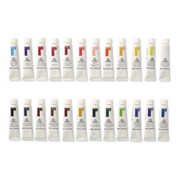 Reeves 10ml Oil Color Paint 24-Color Set