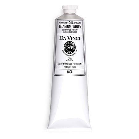 Da Vinci Paints Artists' Oil Color Paint 150ml Titanium White