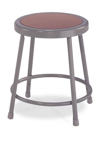 "National Public Seating Corp 31.5"" - 38.5"" Adjustable Basic Stool"